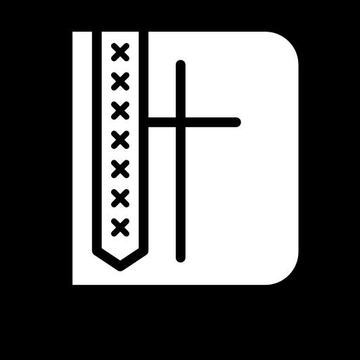 bible, catholic, christian, church icon