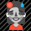 catrina, death, emoji, halloween, horror, sorry icon