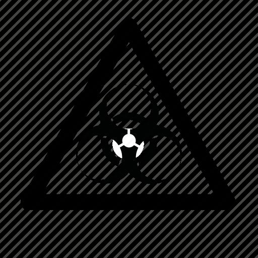 biohazard, hazardous icon