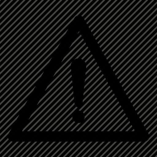 attention, caution, cautious, danger icon