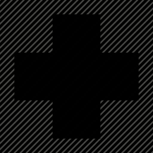 cross, medic icon