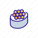 caviar, fish, food, restaurant, seafood