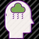depression, disorder, mood, sadness icon