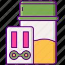 cbd, drug, test, thc icon