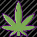 cannabis, drug, ganja, marijuana, weed icon