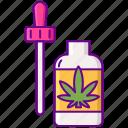 cannabis, weed, oil