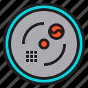 camera, cctv, guard, security, smoke, spy, surveillance icon