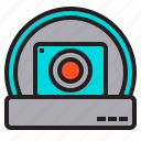 camera, cctv, dome, guard, security, standard, surveillance icon