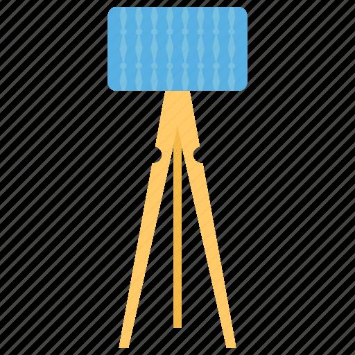 Beacon, flashlight, house decoration, shining light, tripod lamp icon - Download on Iconfinder