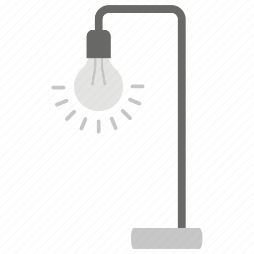 Flashlight, floor lamp, house decoration, marble lamp, shining light, table lamp icon - Download on Iconfinder