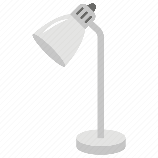 Desk lamp, flashlight, floor lamp, house decoration, shining light, table lamp icon - Download on Iconfinder