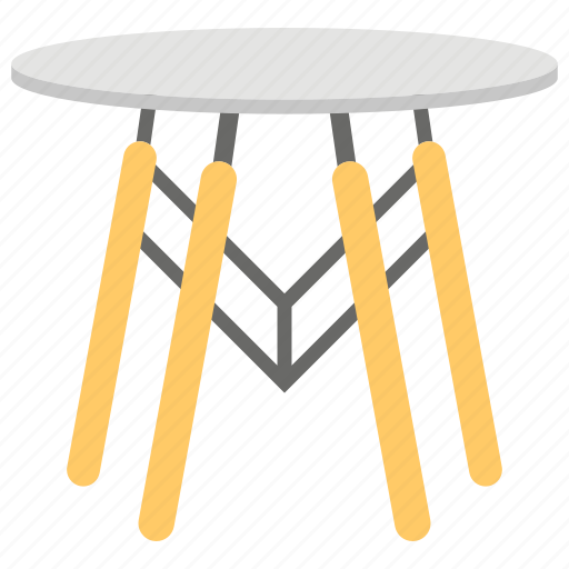 dining table, dinner table, home furniture, modern table, stylish table icon