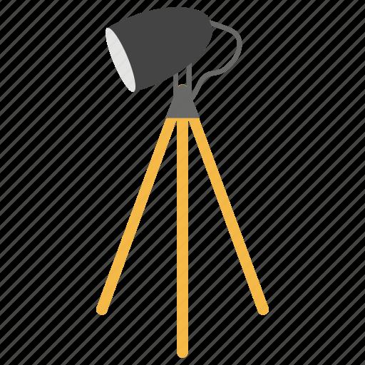 beacon, flashlight, house decoration, shining light, tripod lamp icon