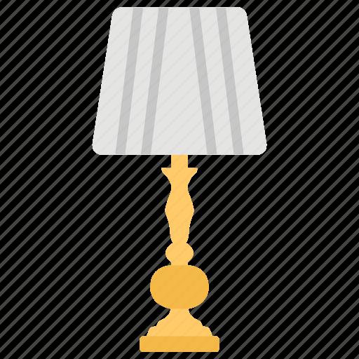 Flashlight, floor lamp, house decoration, lamp, shining light, wood lamp icon - Download on Iconfinder