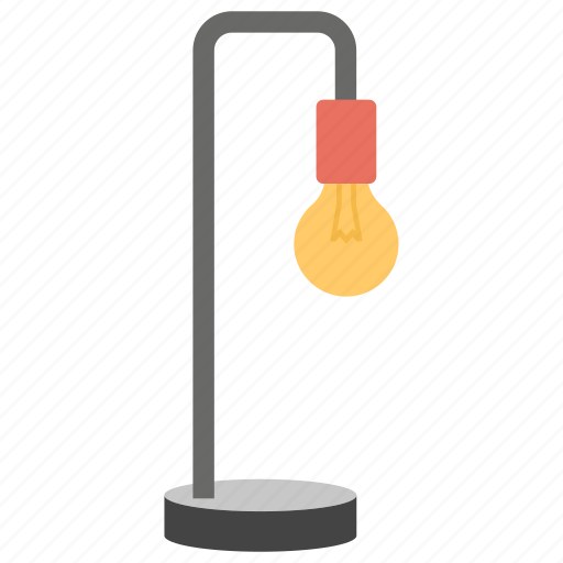 Flashlight, floor lamp, house decoration, lamp, lighting lamp, shining light icon - Download on Iconfinder