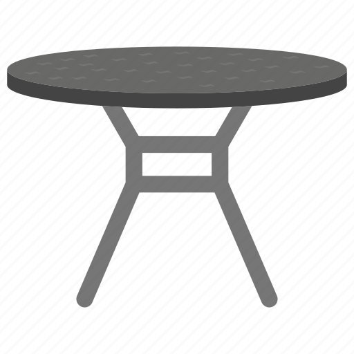 Superieur Dining Table, Fancy Table, Patio Table, Round Table, Stylish Table, Top Bar  Table Icon