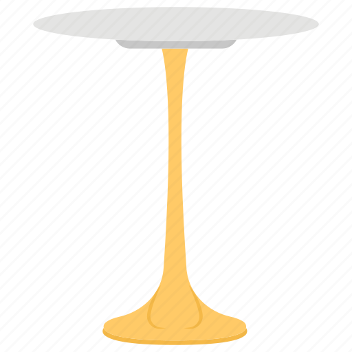 Dining table, fancy table, round table, side table, stylish table icon - Download on Iconfinder