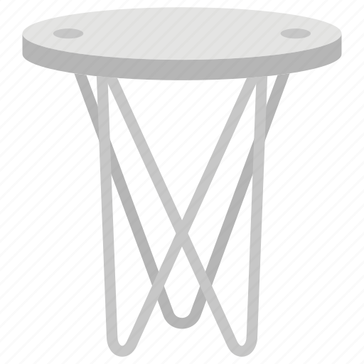 accent table, fancy table, furniture, room table, stylish table icon