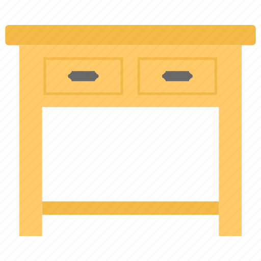 extended table, fancy table, furniture, room table, stylish table icon