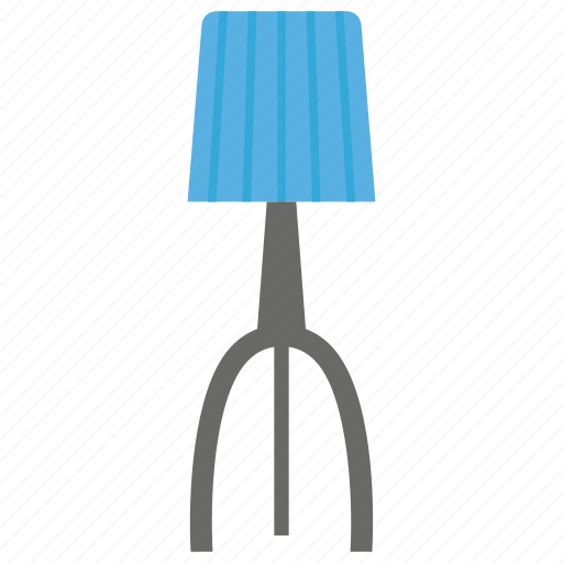 flashlight, floor lamp, house decoration, linden lamp, shining light icon