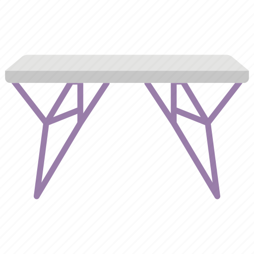 contemporary table, fancy table, furniture, living room table, room table, stylish table icon
