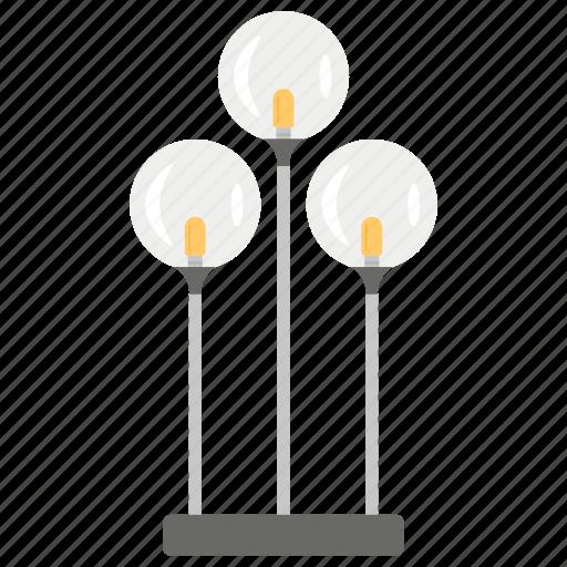 Flashlight, floor lamp, house decoration, millie floor lamp, shining light icon - Download on Iconfinder