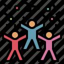 activity, celebrate, ceremony, enjoy, happy, party icon