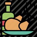 celebrate, food, god, gratitude, thanksgiving, turkey icon