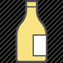 alcohol, alcohol bottle, beverage, drink, wine bottle icon
