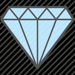crystal, diamond, gem, gemstone, jewel, precious stone, ruby icon