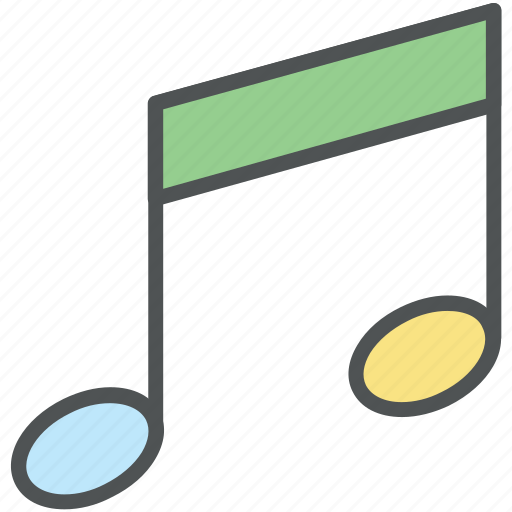 media, music, music node, music note, musical notes, note, sound icon