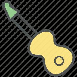 cello, fiddle, frets, guitar, music instrument, ukulele icon