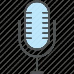 mic, microphone, musical instrument, radio mic, wireless microphone icon