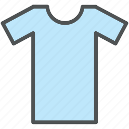 clothes, half sleeves shirt, shirt, sports shirt, summer shirt, t-shirt icon
