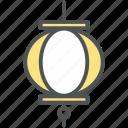 electric, fanous, fanous light, lamp, lantern, lantern stack, paper lanterns icon