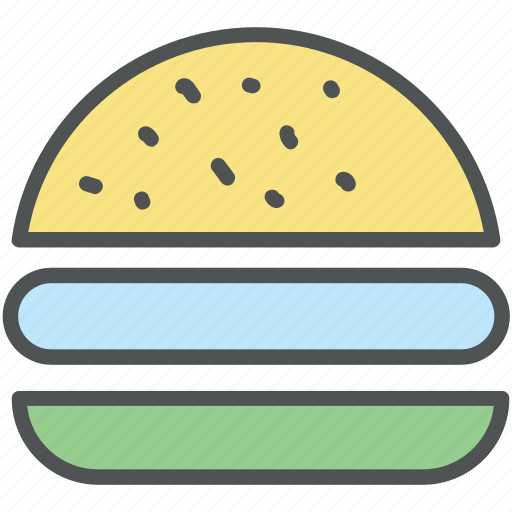beefburger, burger, cheeseburger, fast food, food, hamburger, junk food icon