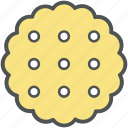 bakery, bakery food, biscuit, cookie, sweets icon