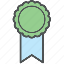 award, award medal, badge, medal, prize, ribbon award, ribbon badge icon