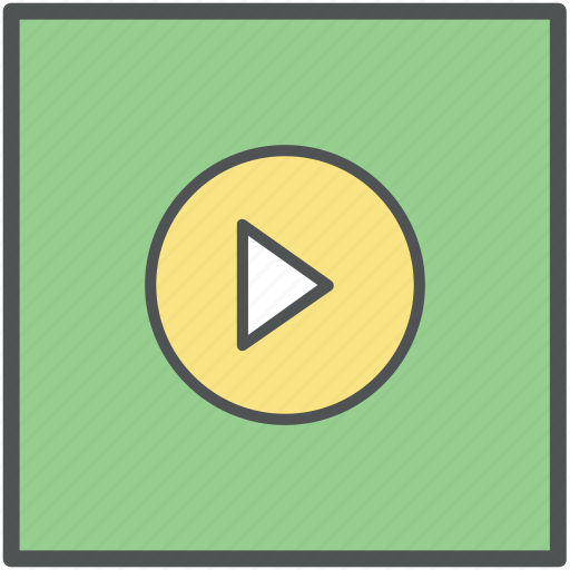audio player, media, media player, movie player, multimedia, play, video play icon
