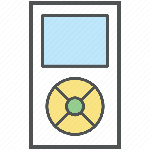 ipod, media player, music, music device, music player, portable media player, walkman icon
