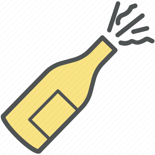 beer enjoy, celebration, champagne, champagne blast, party, splashing beer icon
