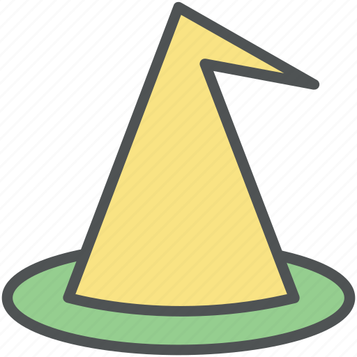 birthday, cap, cone hat, decoration, hat, new year, party hat icon
