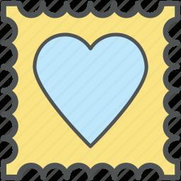 greeting card, heart, heart ticket, love, valentine card, valentine greeting icon
