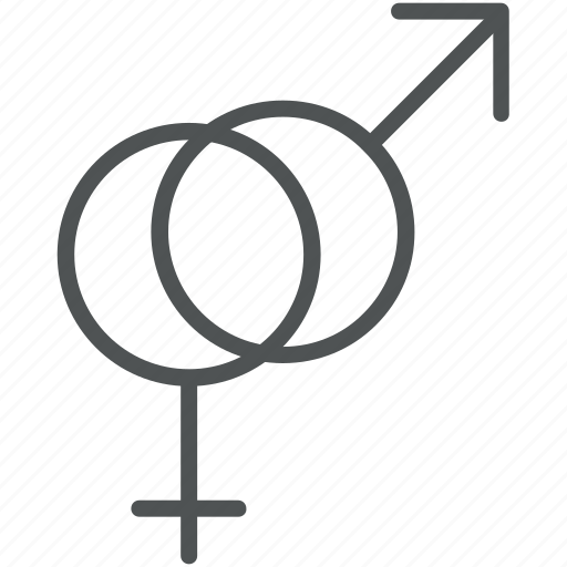 female gender, gender sign, gender symbols, male gender, sex symbols icon