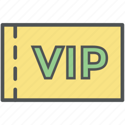 event pass, event ticket, function card, party card, vip card, vip pass icon