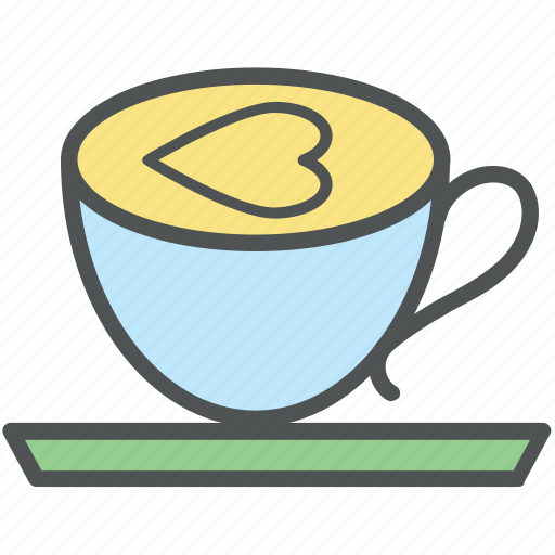 cappuccino, coffee, coffee cup, cup, espresso, hot coffee, hot tea, tea cup icon