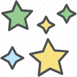 christmas stars, favorite, five pointed, five pointer, shape, stars icon