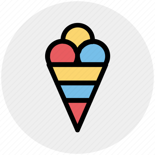 Cake cone, cone, cup cone, ice cone, ice cream icon - Download on Iconfinder