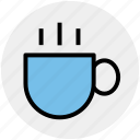 cappuccino, coffee cup, cup, espresso, hot coffee, tea, tea cup icon