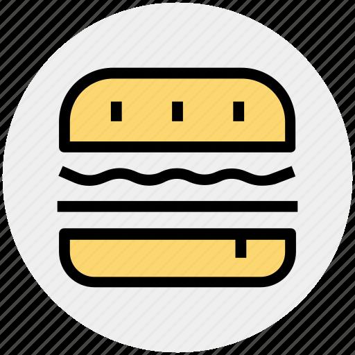 Zinger, cheese burger, hamburger, food, burger, fast food icon